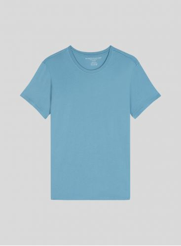 Men's round neck Silk Touch T-shirt