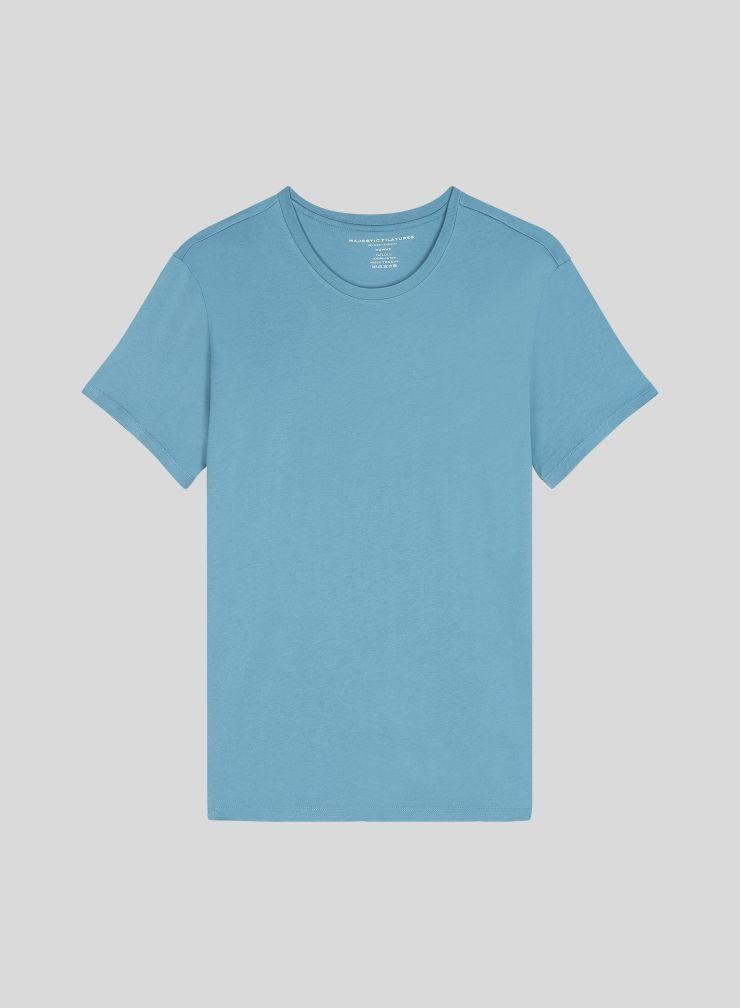 Men's round neck Silk Touch Cotton T-shirt