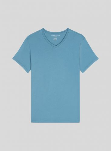 Paul Men's V neck Silk Touch T-shirt