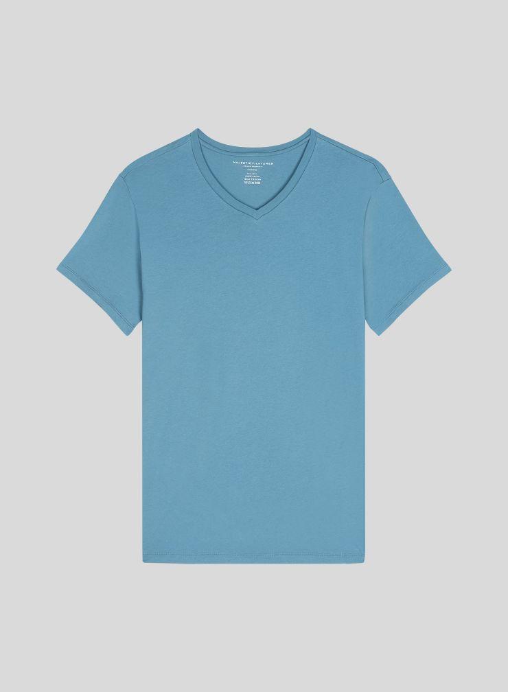 T-shirt col V Homme