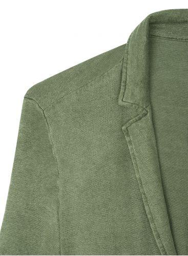 Veste 2 boutons Homme teinture artisanale