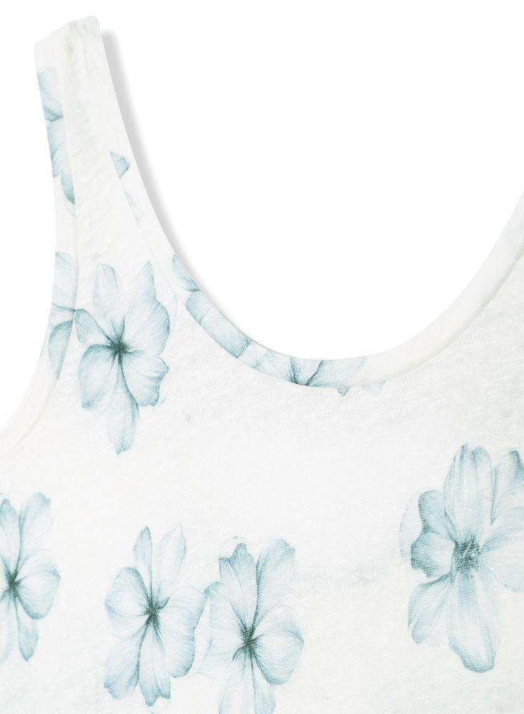 Flower printed Tank Top