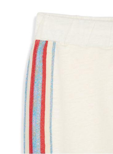 Pantalon à bande latéral