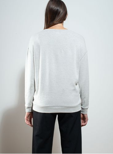 Round neck double sided Sweater