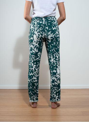 Tie & dye cuffed Pants