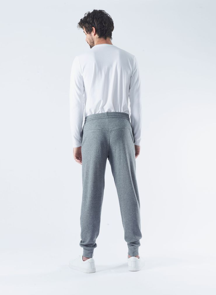 Pantalon jogger double face