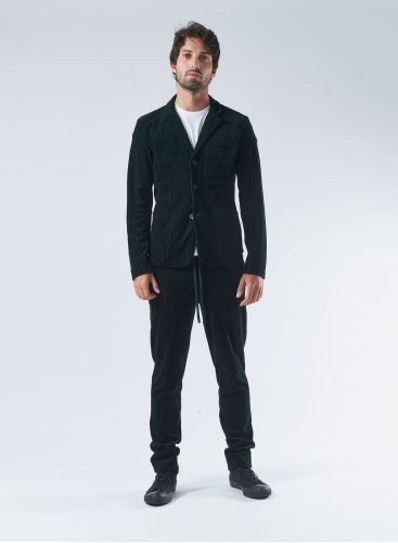 Veste 3 poches en velours côtélé