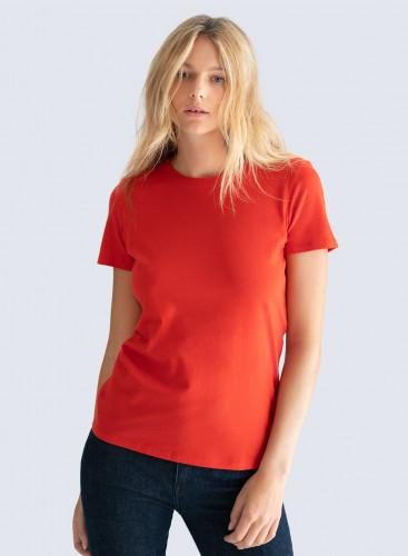Round neck Silk Touch T-shirt
