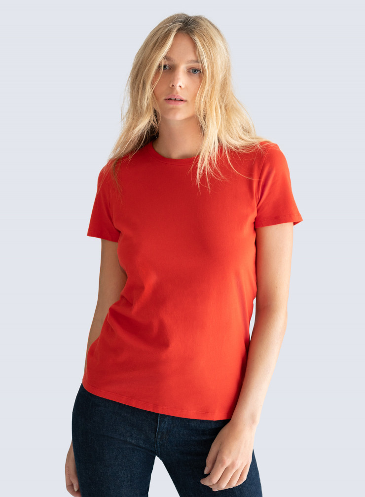 Round neck Silk Touch T-shirt