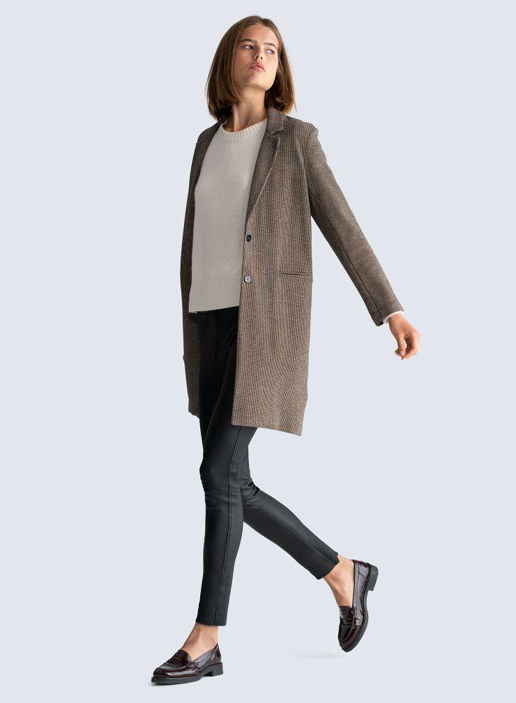 Manteau pied-de-puce