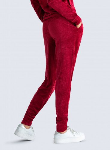 Pantalon de jogging en velours
