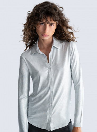 V-neck shimmering Shirt