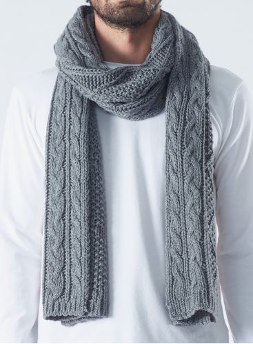 Twisted mesh  Scarf