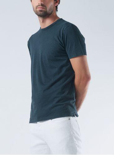 Round neck hand dyed T-shirt