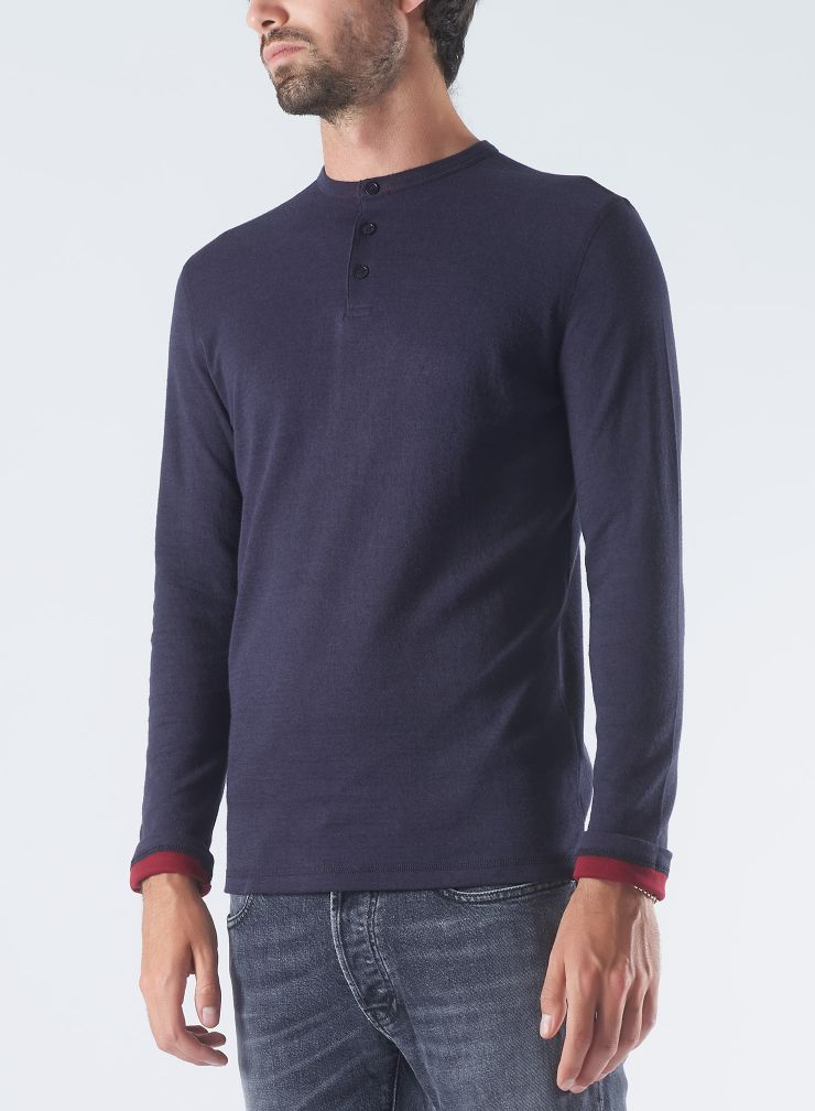 Double sided Tunisian T-shirt