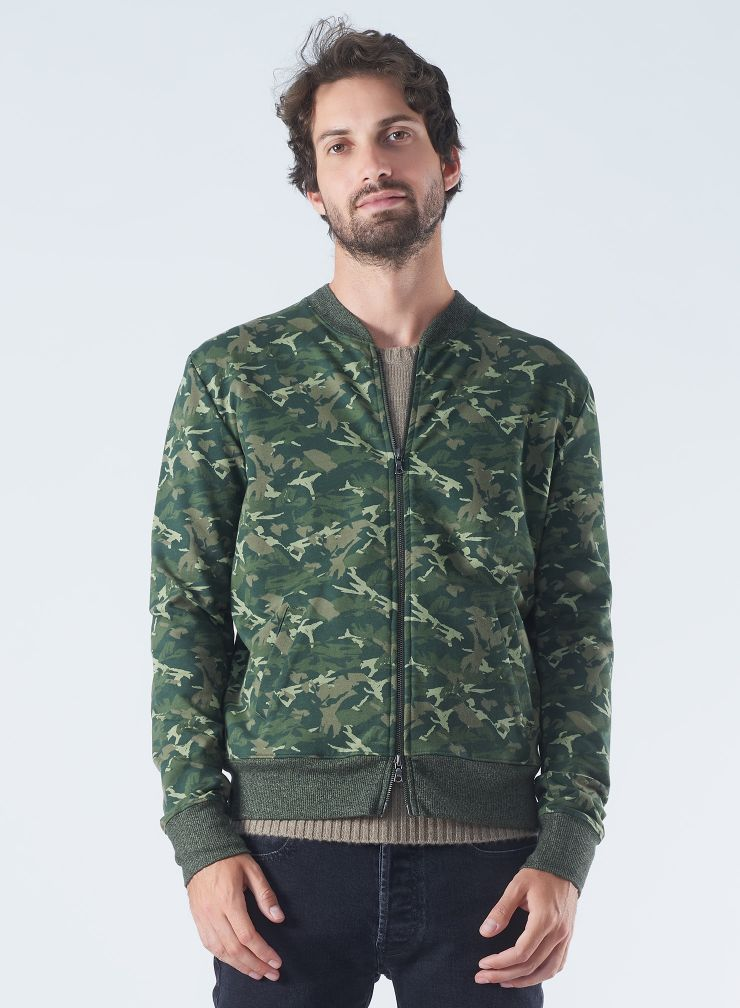 Camo Teddy Jacket