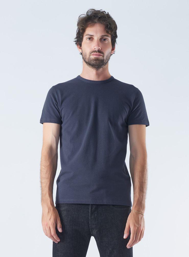 T-shirt col rond piqué de coton