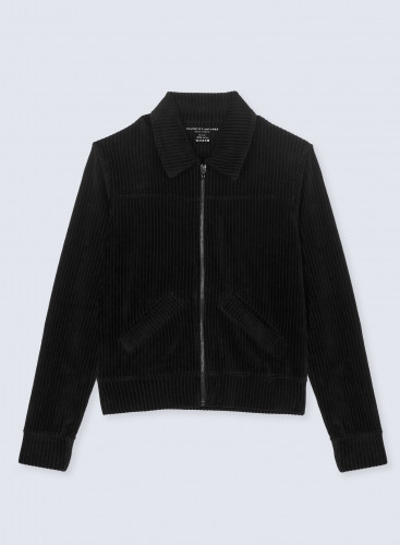 Ribbed velvet Jacket