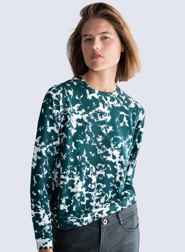 Tie & dye round neck Sweater