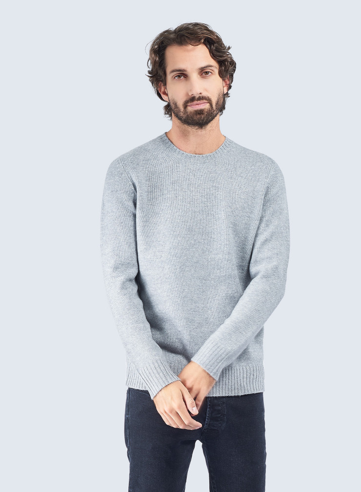Round neck Mongolian cashmere Sweater