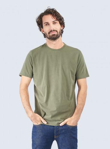 Harold Hand dyed round neck T-shirt