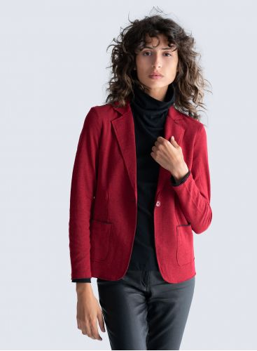 Double sided  1 button Jacket