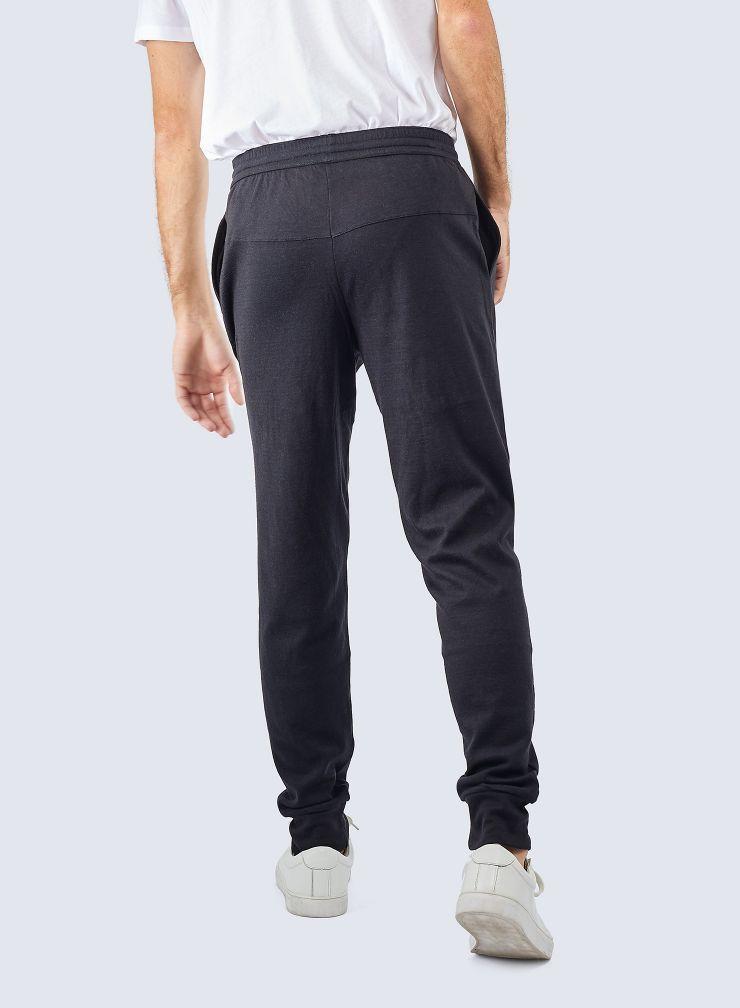 Pantalon jogger double face