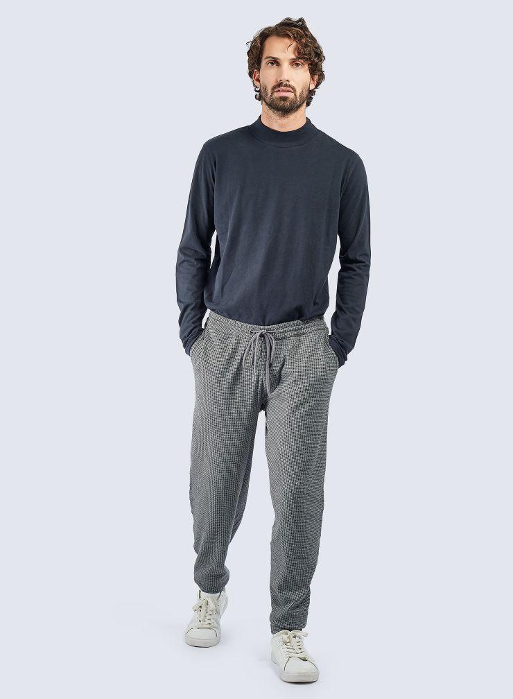 Pantalon jogger pied-de-puce