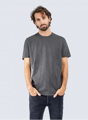 Round neck Cotton pique T-shirt