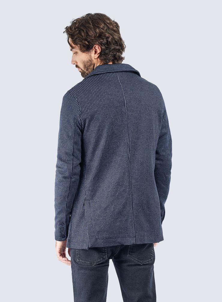 Jacquard 2 buttons Jacket