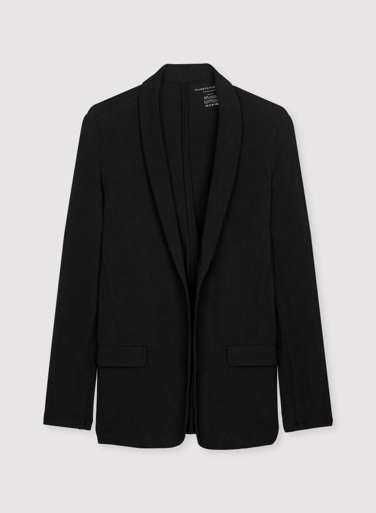 Flap pockets jacket