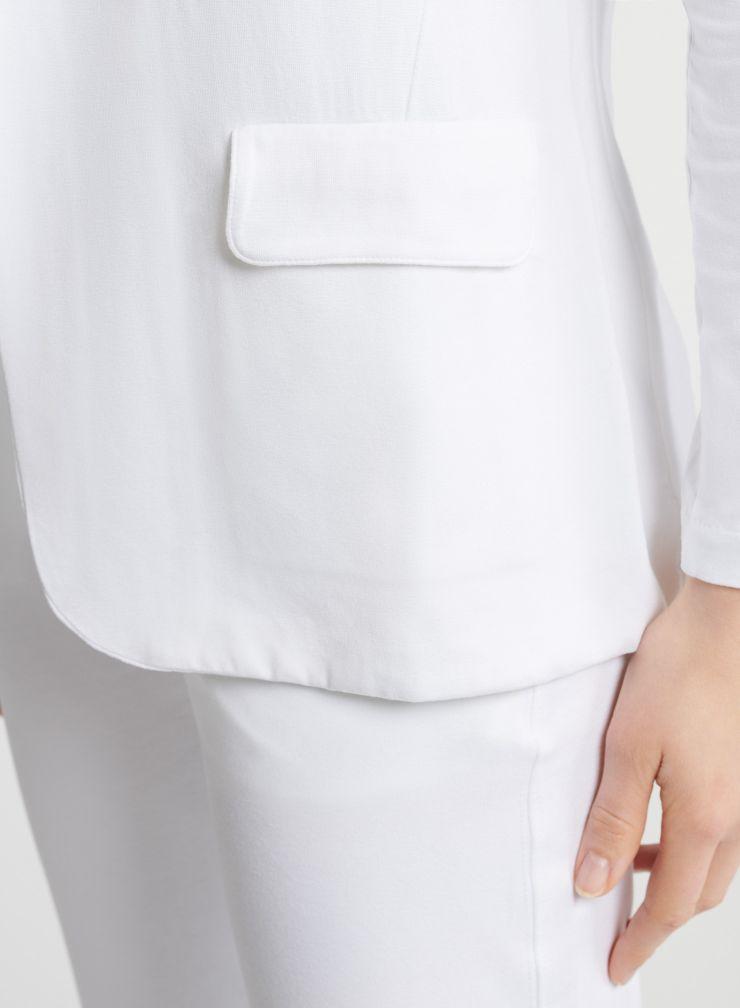 Veste poches à rabat