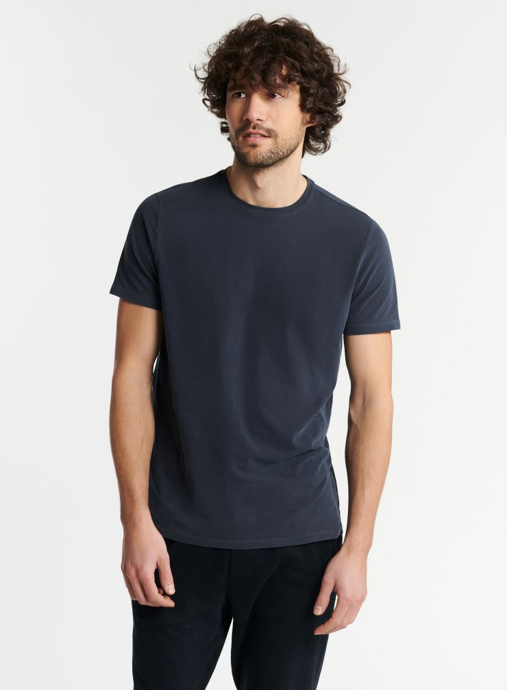 Man - Harold hand dyed round neck t-shirt
