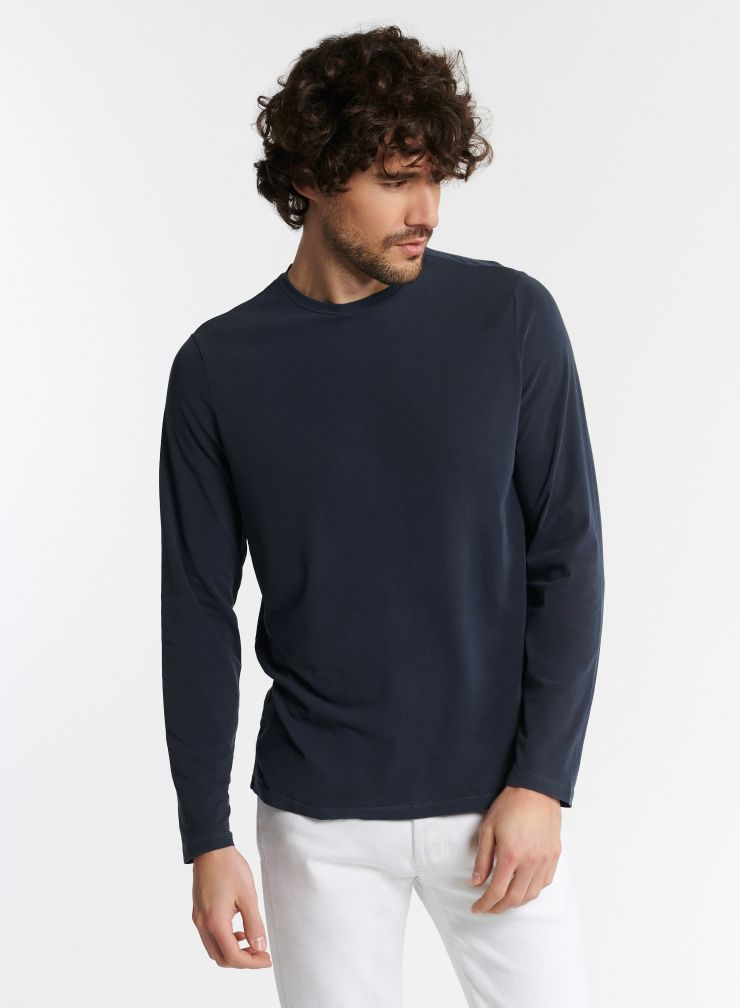 Man - Henry hand dyed round neck t-shirt