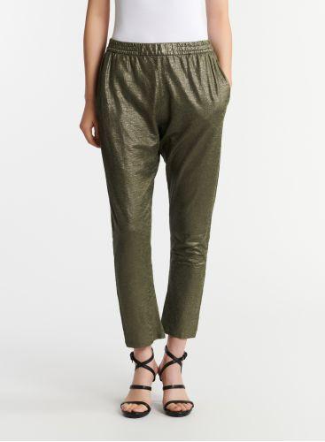 Pantalon métallisé