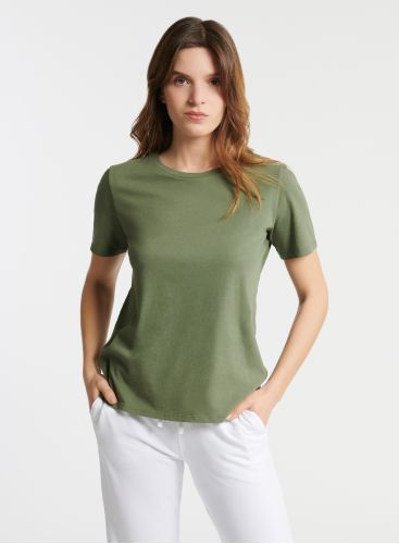 T-shirt col rond Silk Touch Polly