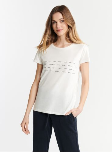 T-shirt col rond Ocean Cleanup