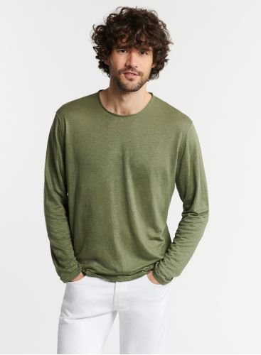 Man - Long sleeve round-neck T-shirt