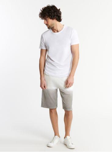 Homme - Short éponge dip dye
