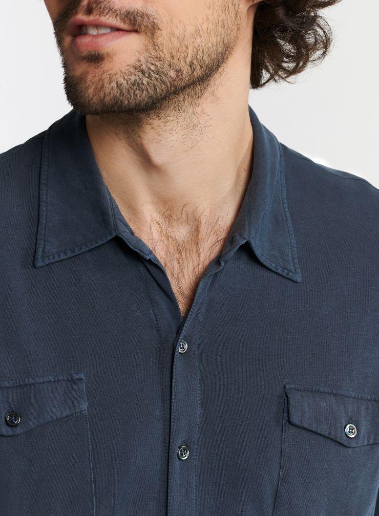 Homme - Chemise 2 poches teinture artisanale