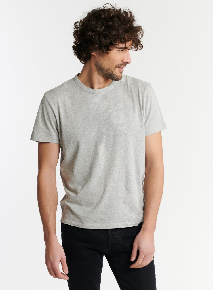 Homme - T-shirt col rond Silk Touch Philippe
