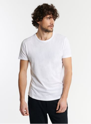 Man - Round neck Silk Touch T-shirt