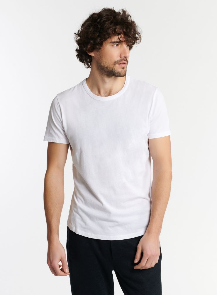 Homme - T-shirt col rond Silk Touch