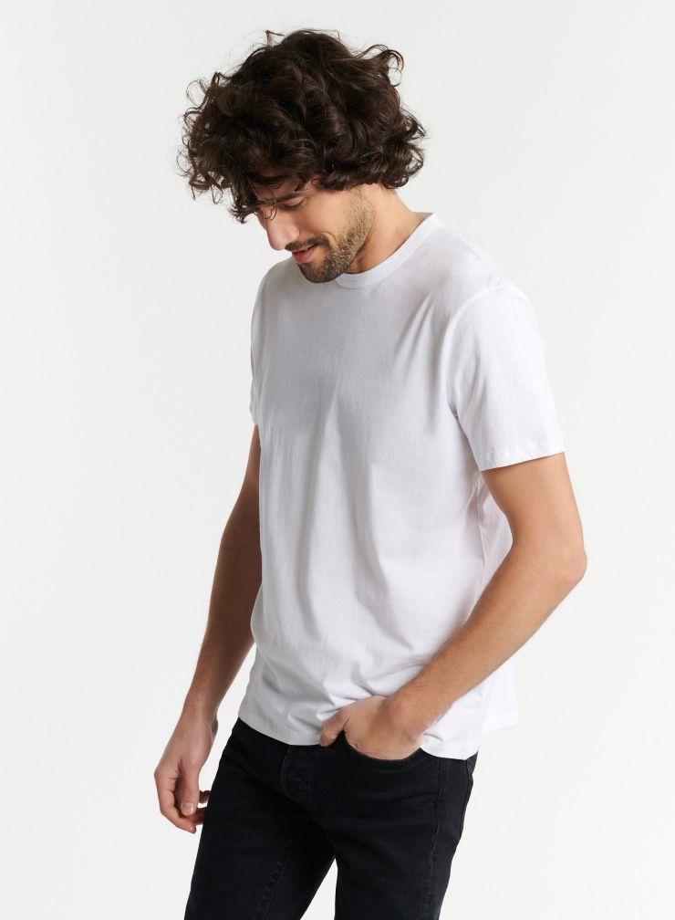 Man - Philippe round neck Silk Touch T-shirt