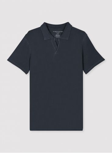 Man - Hand dyed polo shirt