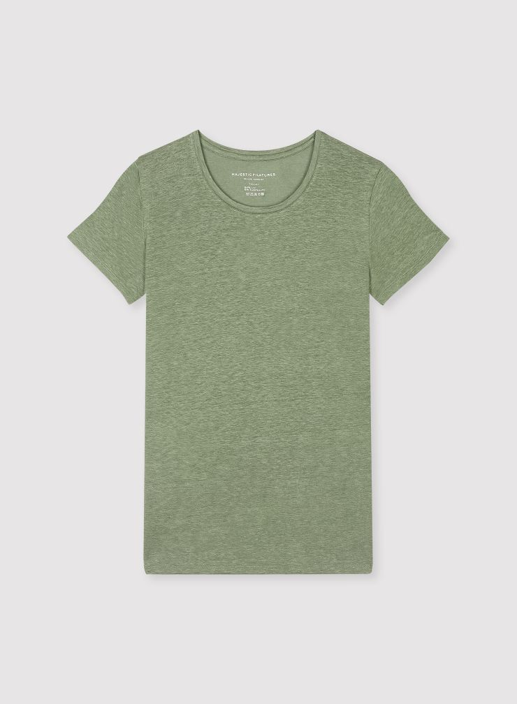 Linda round neck T-shirt