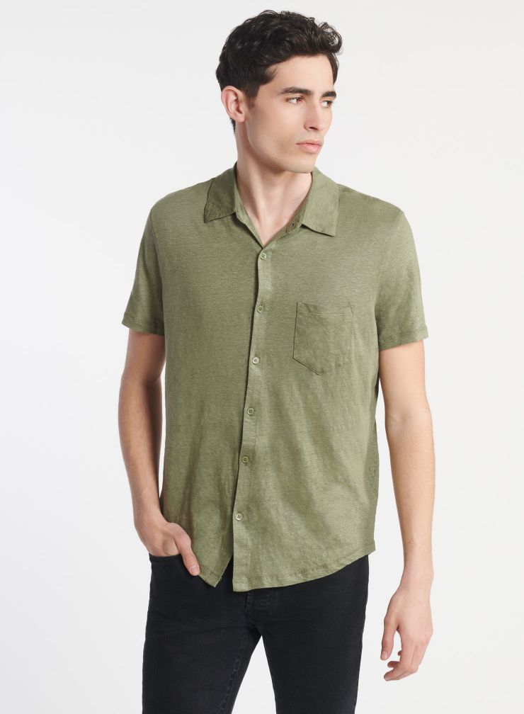 Homme - Chemise manches courtes