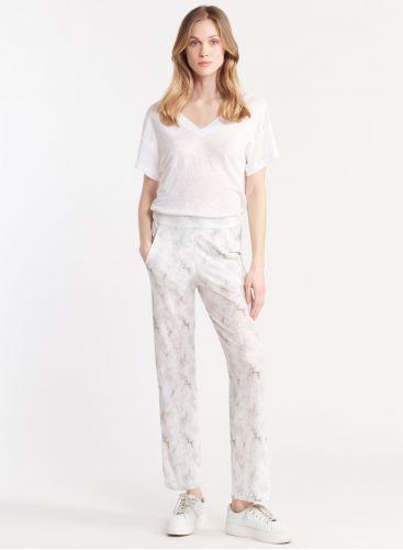 Pantalon imprimé tie & dye