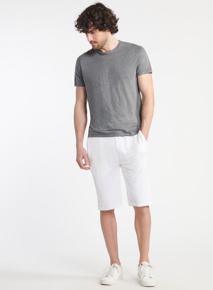 Homme - Short teinture artisanale