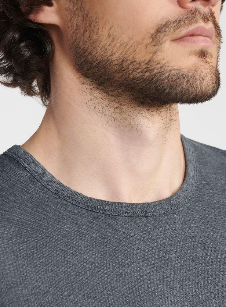 Man - Hand dyed round-neck T-shirt